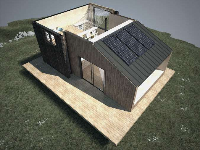 Tiny House Casa paqueñas Casa minimalista