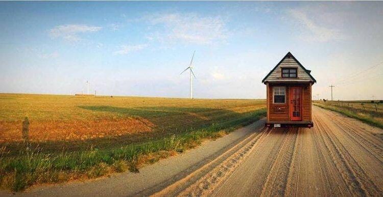 Viajando con una Tiny House